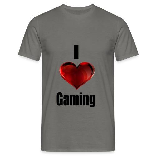i love gaming - Männer T-Shirt