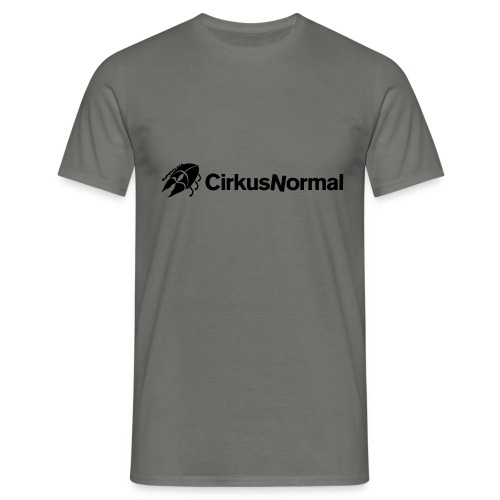 ny normal logga skalbagge - T-shirt herr