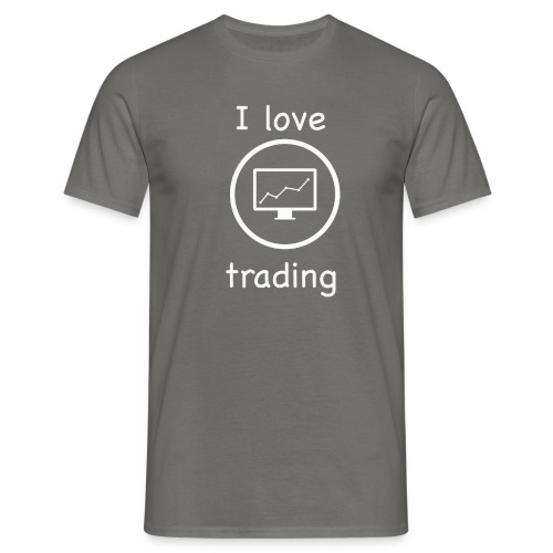 i love trading - Maglietta da uomo