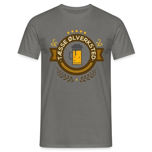 Tæsse ØlVerkstet - T-skjorte for menn