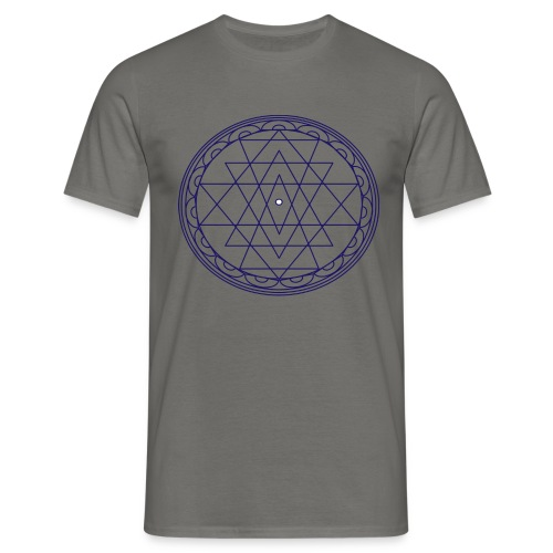 isacred geometry violet - Maglietta da uomo