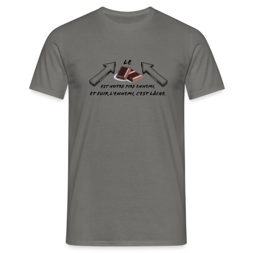 chocolat - T-shirt Homme