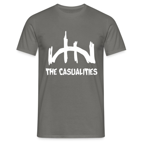 logo blanco recortado - Männer T-Shirt