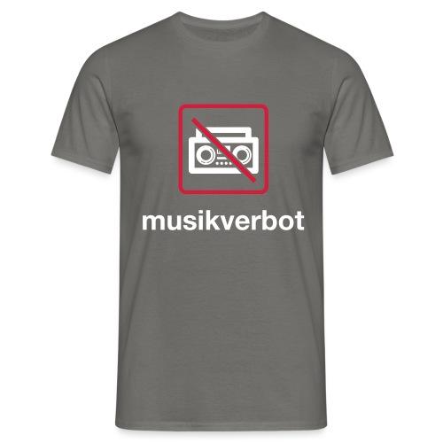 Musicverbot - Camiseta hombre