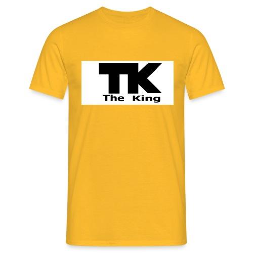 The King med ram - T-shirt herr