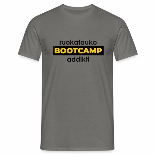 Ruokatauko Bootcamp Addikti - Miesten t-paita