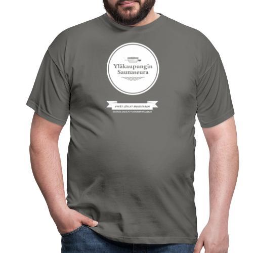 Hakalan sauna, Yläkaupungin saunaseura - musta - Miesten t-paita