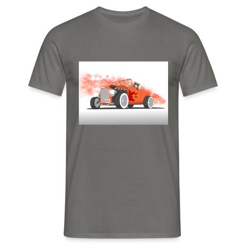Hot Rod with flames - Maglietta da uomo