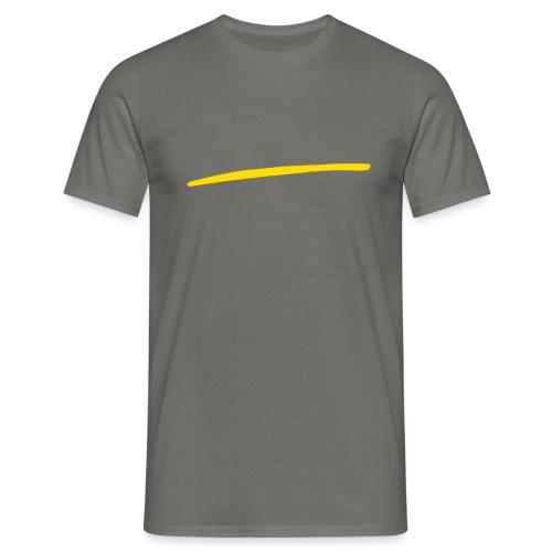 Baffo giallo - Maglietta da uomo
