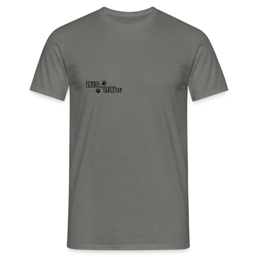 Fenris - black text - Herre-T-shirt