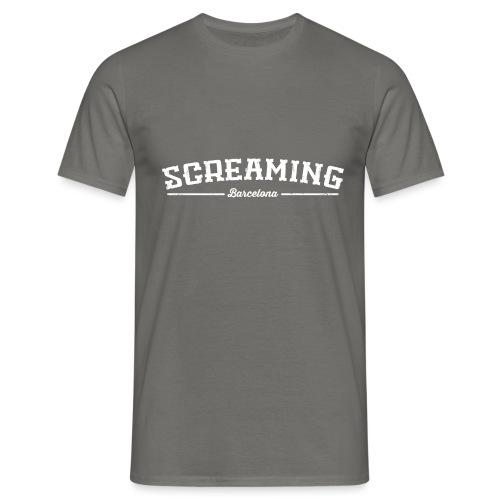 SCREAMING - Camiseta hombre