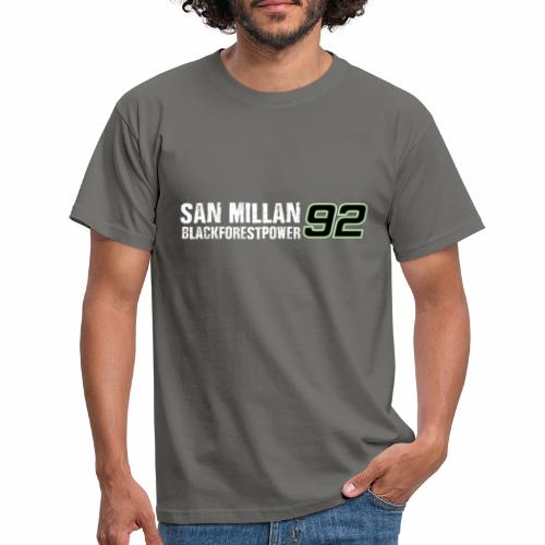 San Millan Blackforestpower 92 - Männer T-Shirt