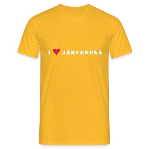 I LOVE JARVENPAA - Miesten t-paita