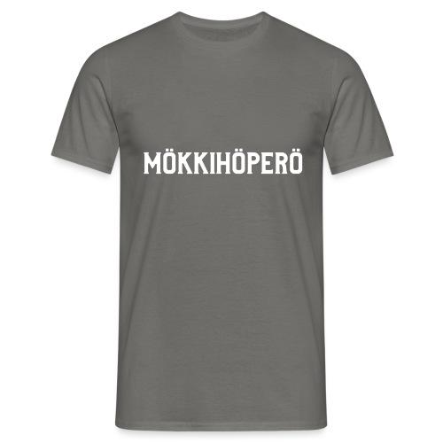 mokkihopero - Miesten t-paita