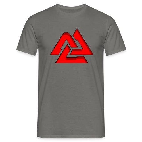 Valknut logo - T-shirt herr