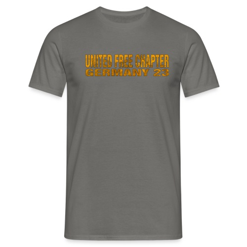 UFC GERMANY 23 Skull-Engine-Chief Design - Männer T-Shirt