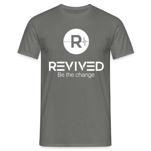 Revived Be the change - Men's T-Shirt