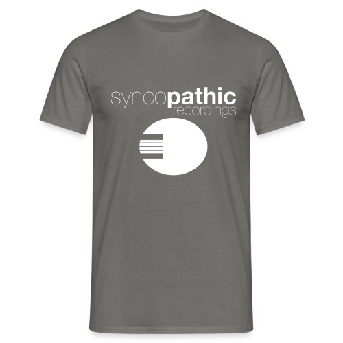 Syncopathic White - Men's T-Shirt