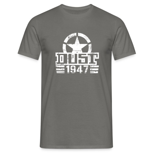 Logo D 1947 blanc - T-shirt Homme