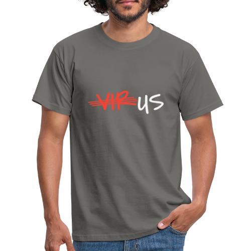 T-Shirt gegen Corona und für ein Miteinander - Männer T-Shirt