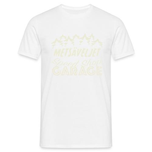 metsa veljet white 03 03 - Miesten t-paita