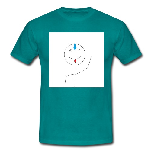 avatar stick man cover 6/6s - Herre-T-shirt