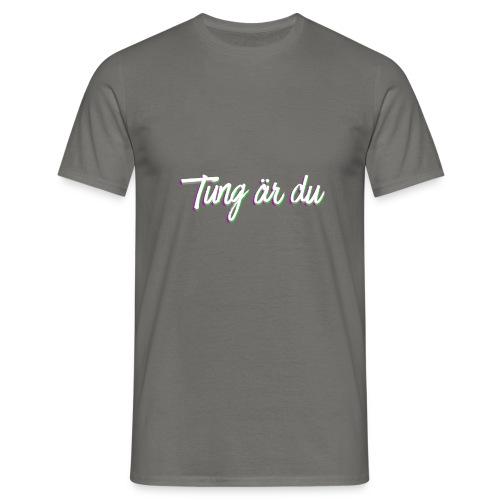 tung--ru - T-shirt herr