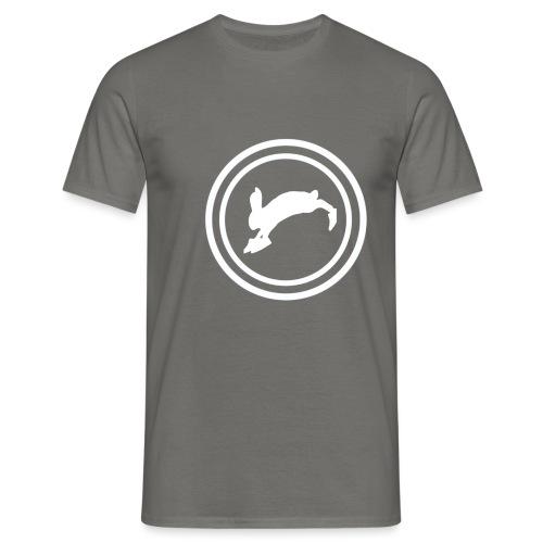 Bunny_Logo2 - Herre-T-shirt