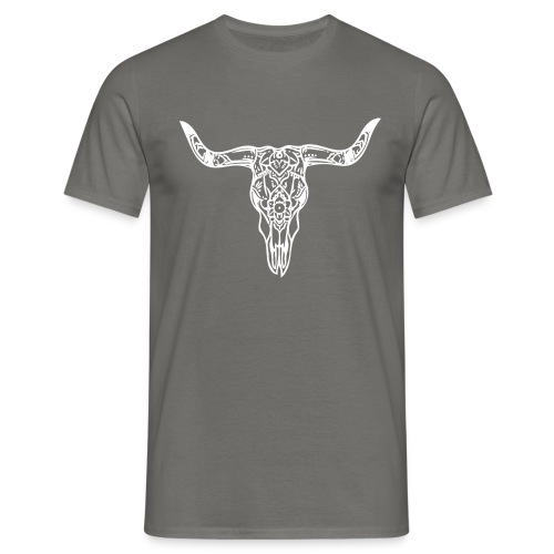 LaBestiaWhiteLogo png - Mannen T-shirt