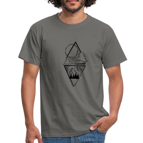 Sun Mountains - Männer T-Shirt