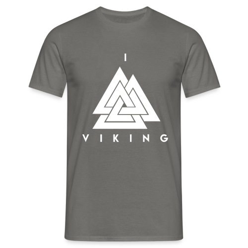 I lov Viking White - T-shirt Homme
