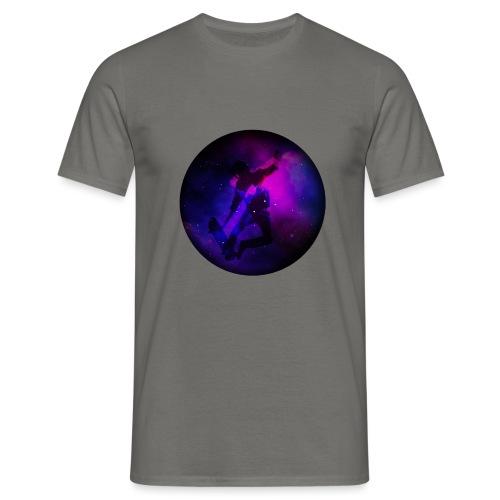 Ride the Univers - Männer T-Shirt