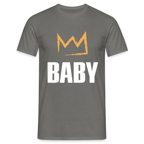 Baby mit Krone - Männer T-Shirt