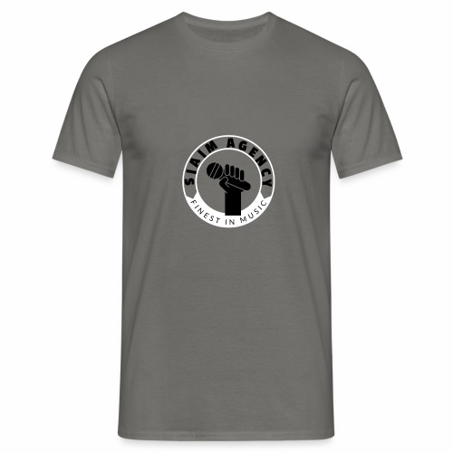 SamAgencyLogoBW - Männer T-Shirt