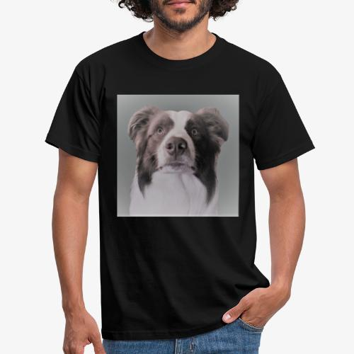 collie rush - Mannen T-shirt