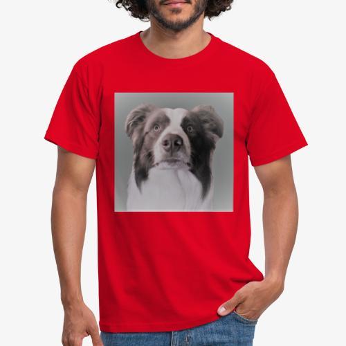 collie rush - Mannen T-shirt