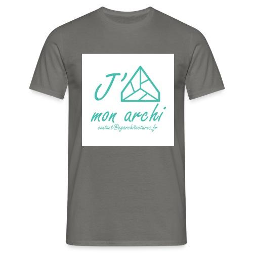 J aime mon archi - T-shirt Homme
