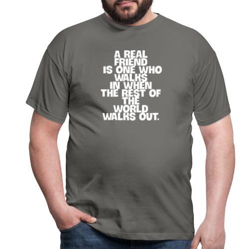 real freund - Männer T-Shirt