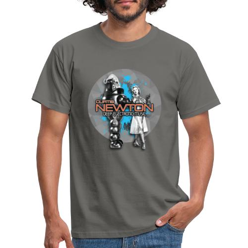 CURTIS NEWTON - DEEP ELECTRONIC MUSIC - Männer T-Shirt