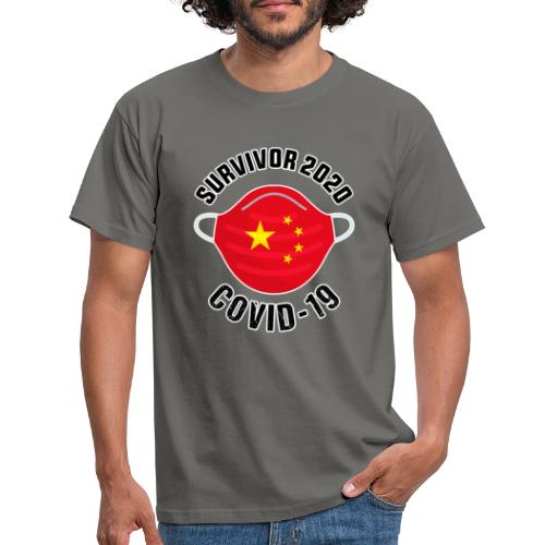 Survivor Covid 19 China - Camiseta hombre