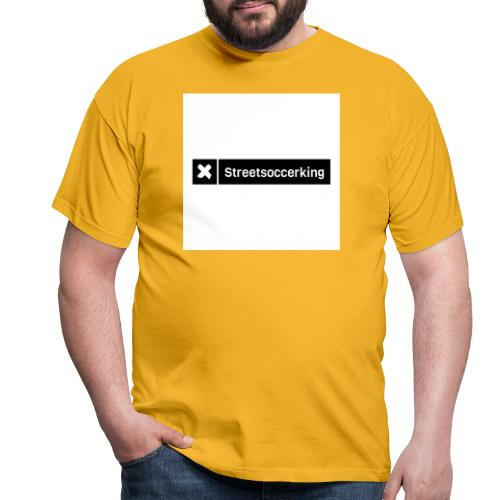 Streetsoccerking - Mannen T-shirt