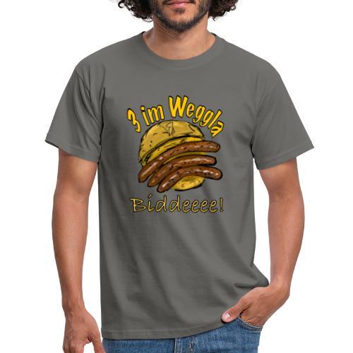 3imWeggla - Männer T-Shirt