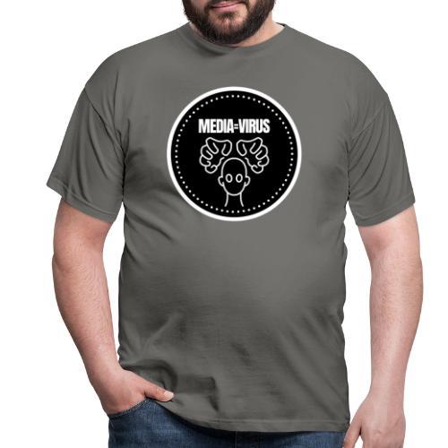 Mediavirus - Mannen T-shirt