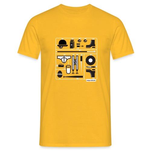 Ninho Orange Clockworks - Maglietta da uomo