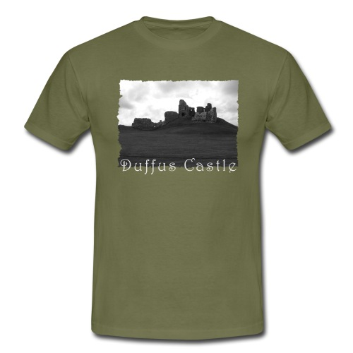 Duffus Castle #1 - Männer T-Shirt
