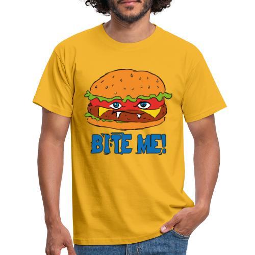 Bite me! - Maglietta da uomo