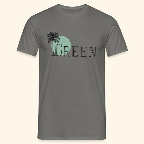 Green - T-shirt Homme