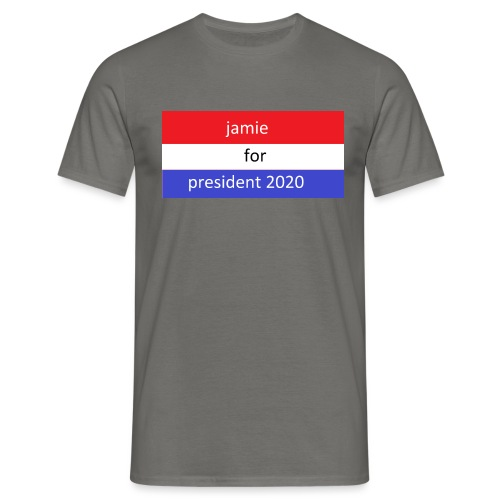 jamie for president 1 - Mannen T-shirt