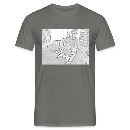 cartooned trampboy - T-shirt herr