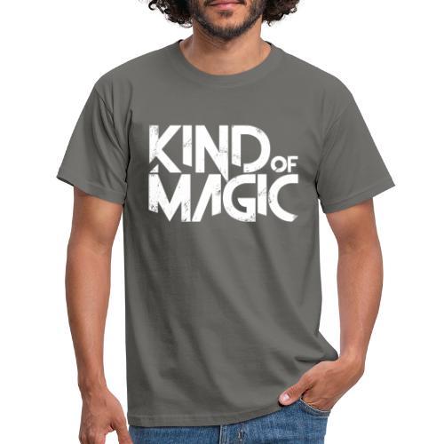 KIND of MAGIC white - Männer T-Shirt